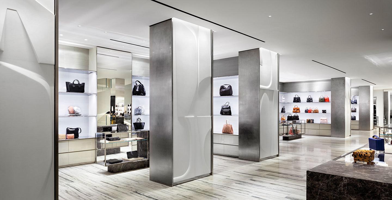 Steven harris architects llp barneys new york chelsea for A la mode salon bay ridge